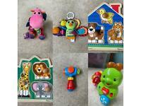 Baby toys - Lamaze, Fisher Price, V-Tech, Melissa and Doug
