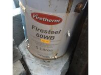 FIRE PROOF PAINT FOR STEEL