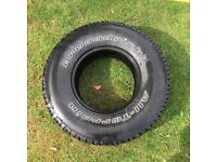 1x BF Goodrich 31x10.50R15 Tire, All-Terrain T/A KO2 - 69948