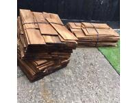 Red Cedar Shingles - roof tiles