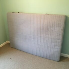 Ikea double mattress, excellent condition, hardly used.
