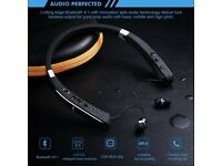 Wireless Sports Headphones Bluetooth 4.1 Stereo Earphones for iPhone Android Bluetooth