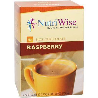 NUTRIWISE | Raspberry Diet Hot Chocolate | High Protein, Low Fat, Low -