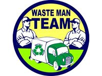 SAME DAY RUBBISH & HOUSE CLEARANCE,JUNK-WASTE REMOVAL,MAN & VAN SERVICE,GARDEN-OFFICE WASTE,24-7