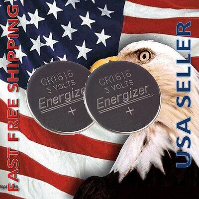 Купить Energizer ECR 1616 - **FRESHLY NEW** 2x Energizer CR1616 Lithium Battery 3V Coin Cell Exp 2024
