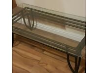 Glass coffee table for sale. Really good condition. £40 ONO. Collection only from Bootle