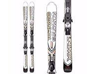 Salomon X-Wing Tornado Ti Skis with poles and bindings - great all mountain ski