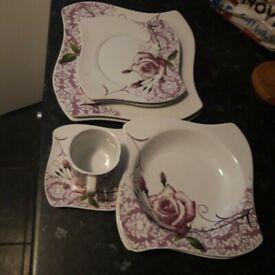 30 piece tea and dining set