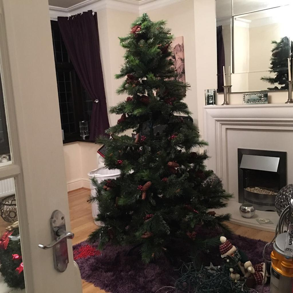 6ft Christmas tree Xmas b&q   in Coventry, West Midlands   Gumtree