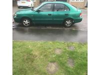 Hyundai Accent 1.5 !!GOING CHEAP!!LOW MILLAGE!!CHEAP ON INSURANCE!!