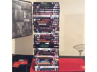Job lot DVDs and boxsets in very good condition