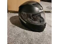 Shark helmet/motorbike