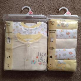 Brand new 18-24 months sleepsuits and bodysuits