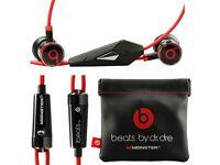 Genuine monster Beats By Dre. IBeats Earphones FREE SHIPPING UK