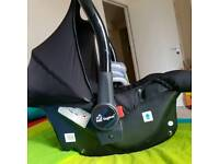 baby car seat with ISO fix base