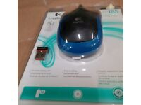 Black keyboard & optic mouse