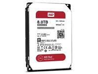 Western Digital (WD) Red Hard Drive 8 TB NAS HDD WD80EFZX