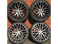 20 inch alloy wheels off Mercedes Benz split width E S Class sl Audi Seat alloys rims vw