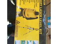 FOCUS ROTARY LASER LEVEL KIT NEW AND IN ORIGINAL PACKAGING