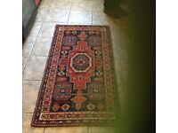 Late aunties old wool rugs exlt condition set of 3