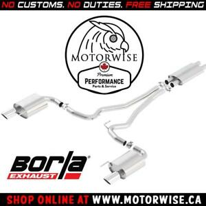 Borla ATAK Catback Exhaust System | 2015 to 2017 Ford Mustang GT | Shop & Order Online at motorwise.ca | Free Shipping