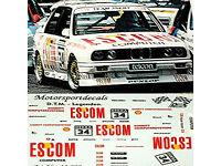 Mini Gt BMW M3 E30 91 Deutsche Tourenwagen Meisterschaft W Marboro Aufkleber