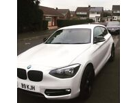 BMW 1 series 114i sport 3 door - massive spec