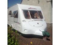 2 berth touring caravan for sale includes mover and full length awning