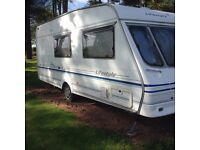 Swift Lifestyle 510 ,4 berth Caravan with Full Sized Awning