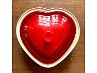 Le Creuset Heart-Shaped Casserole Dish