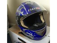 LS2 motorcycle helmet size Medium