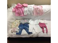 Baby Girl Clothes – 3-6 months – Bundle 1 - Good condition