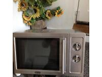 Delong stainless steel microwave