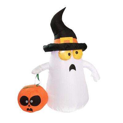Halloween aufblasbarer Geist und Kürbis Yard im Freien Yard Dekor 4ft