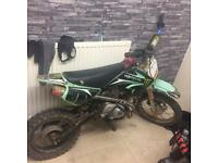 125 pitbike very fast