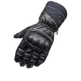 """** BRAND NEW Motorcycle Gloves (By """"Black"""") [Size M] **"""