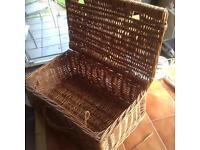 Wicker basket ideal cat basket