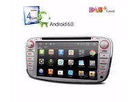 """AUDIO LOCKDOWN E10 - FORD 7"""" Android 6.0 Marshmallow HD Digital Multi-touch Screen 1080P"""