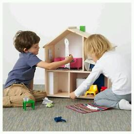 Wooden doll's house Fluset Ikea