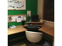 Ikea office corner desk
