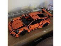 Lego Porsche fully assembled