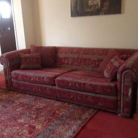 Large Three Seater Duresta Sofa