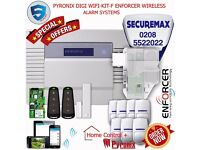 PYRONIX ENFORCER WIRELESS HOME ALARM SYSTEMS, DIGI WIFI-KIT-F UK STOCK!