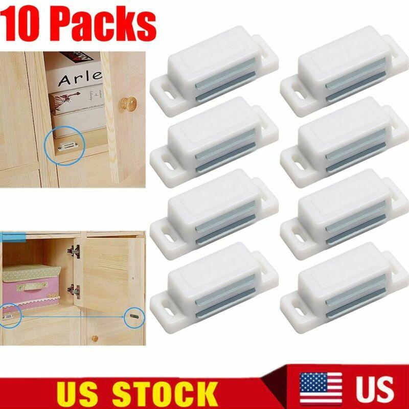 10 Pack Magnetic Cabinet & Door Latch/Catch Closures Kitchen Cabinet Cupboard