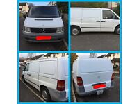 White Refrigeration Van