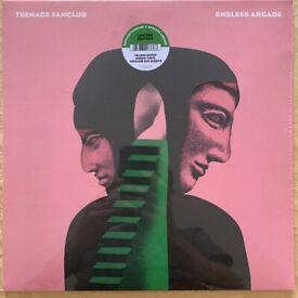 Teenage Fanclub - Endless Arcade Green Vinyl/Die Cut Sleeve