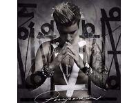 2 x Justin Bieber Purpose World Tour Standing Pitch Tickets Principality Stadium