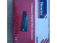 digital video recorder 4 channel dc 12v camera output