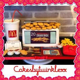 Bespoke Celebration Cakes made to order ⭐️