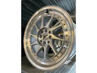 """17"""" JR alloy wheels alloys rims tyres 4x100 4x114 Honda vauxhall Nissan Toyota Vw fiat"""